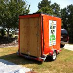 How to Stabilize a Portable Storage Trailer