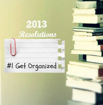 Get Organized resolutions