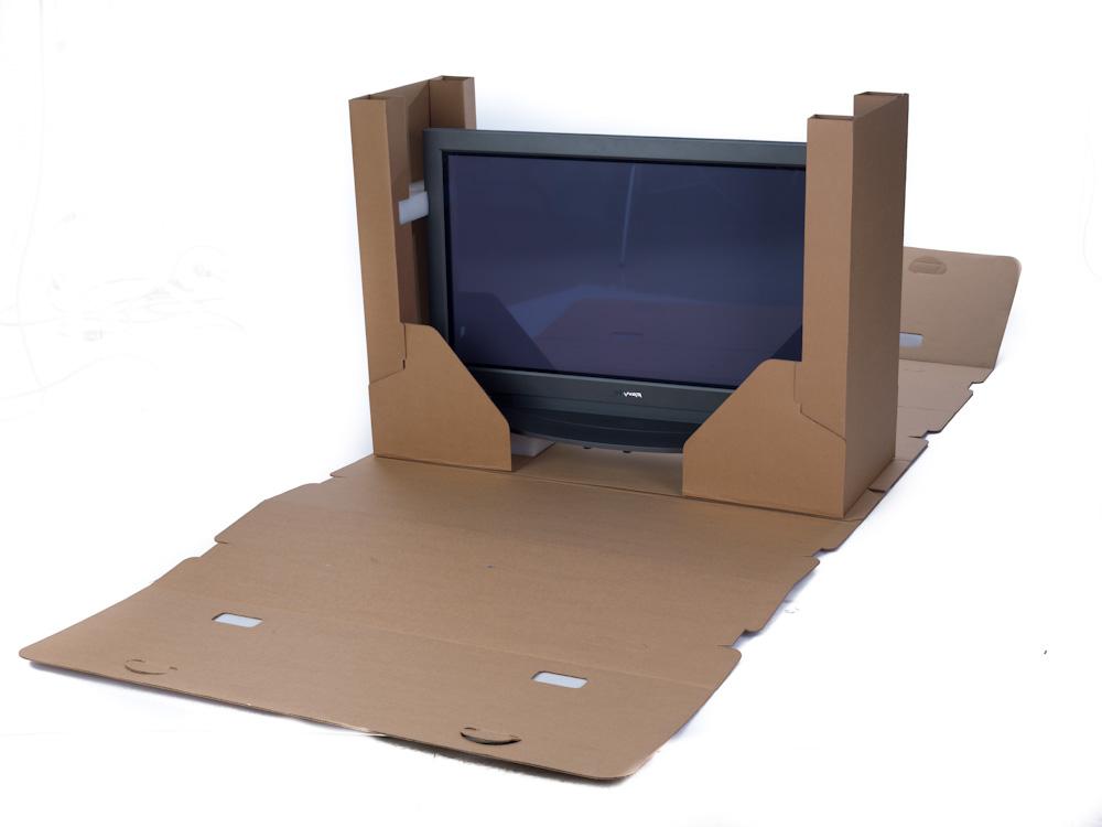 pack flat screen tv box