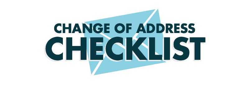 Change of Address - Title Graphic