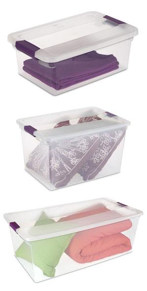 storage bins to organize your garage