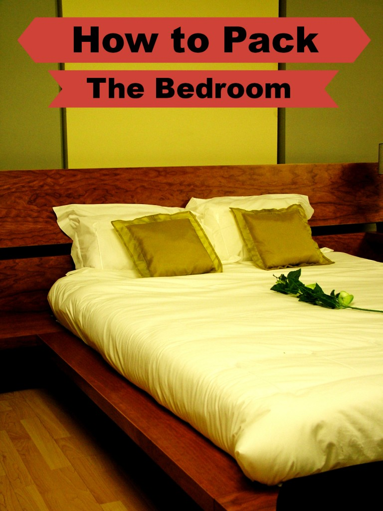 How to pack the bedroom