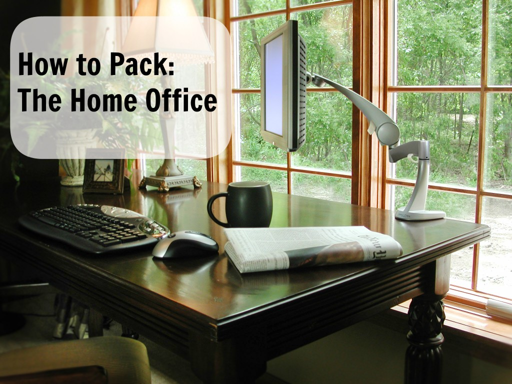 How to pack the home office