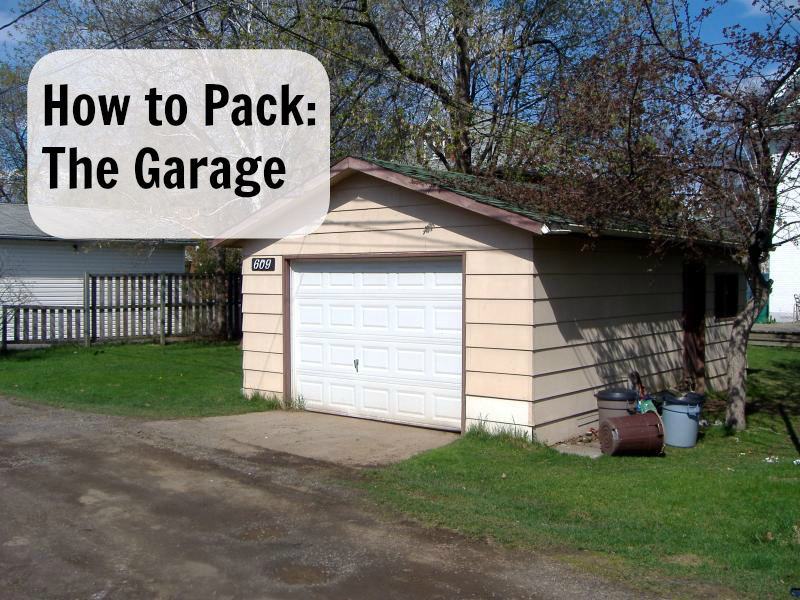 How To Pack: The Garage