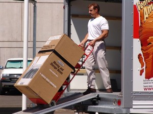 Use a tow dolly for items that are too heavy to lift on your own.