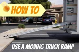 moving truck ramp