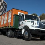 Moving and storage container delivery