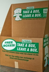 packing a box