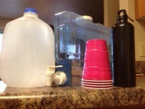 Water container. Water jug. water bottle.