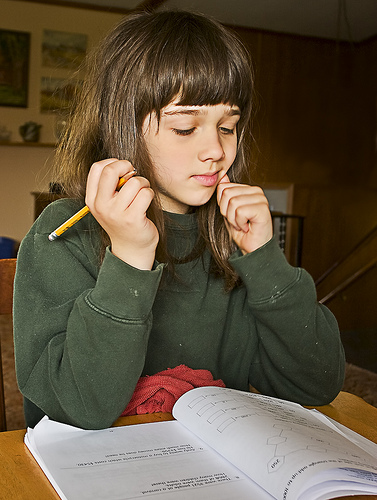 There are plenty of years of school work ahead. Make sure your child is prepared. Image: chefranden via Flickr cc.
