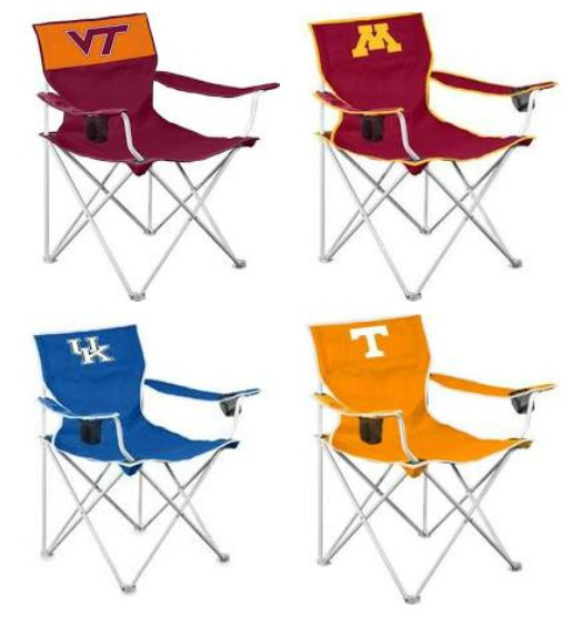Folding tailgating chairs from Amazon.com