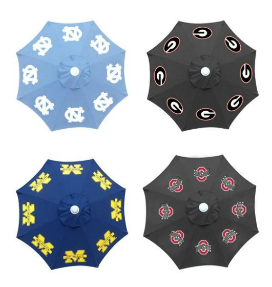 These umbrellas will keep you shaded, but that's not why you will look cool ;) http://bit.ly/1f36hzJ