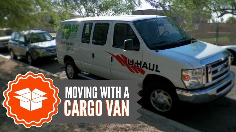 Moving with a Cargo Van Title Graphic