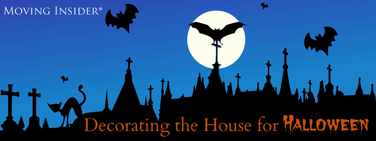 Decorating the House for Halloween