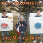 Last Minute Halloween Costumes with Moving Boxes