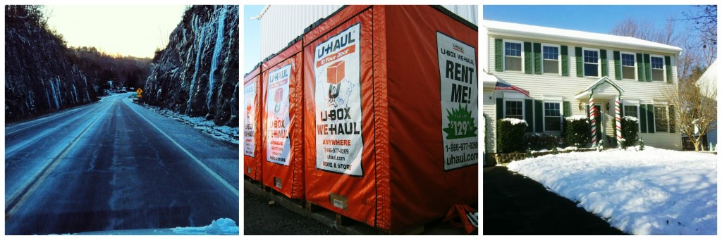 Winter Move with Portable Storage Containers