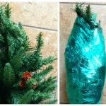 Packing up an Artificial Christmas Tree