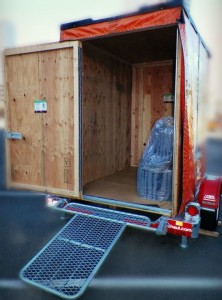 U-Box Portable Storage for DIY Home Renovation