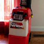 Carpet Cleaning with Rug Doctor