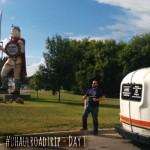 #uhaulroadtrip Day 1: Minnesota and North Dakota