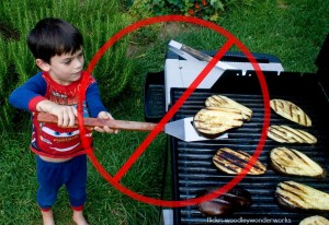 kid grill safety