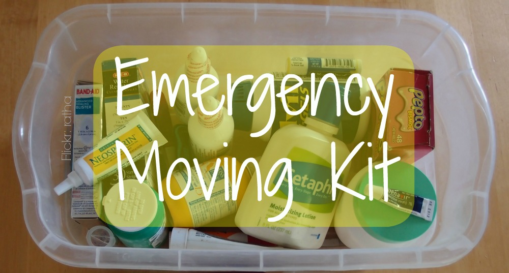 What To Keep In Your Emergency Moving Kit