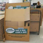Reduce, Reuse, Recycle: Take A Box, Leave A Box