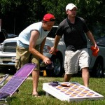 DIY Portable Cornhole Game