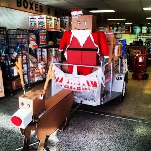 Boxman Santa's Holiday Delivery