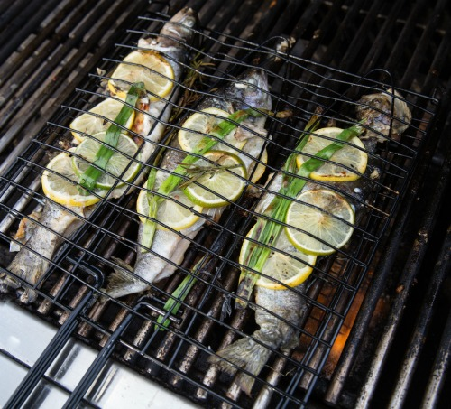 grilling whole fish