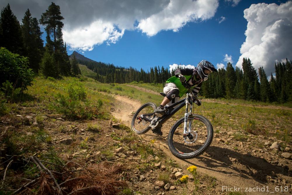 Colorado bike trail