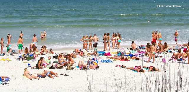 """If you look up """"spring break"""" in the dictionary, the definition would be: Miami Beach"""