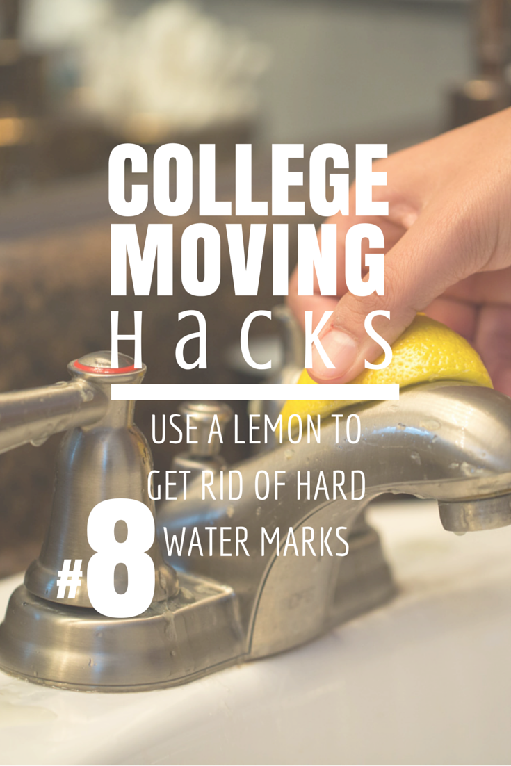 COLLEGE MOVING HACKS