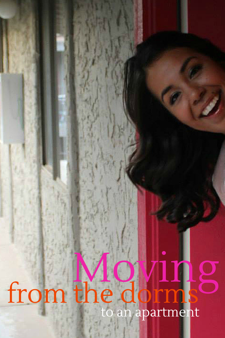 Moving from dorms to apartment