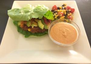 Soyrizo vegan burger