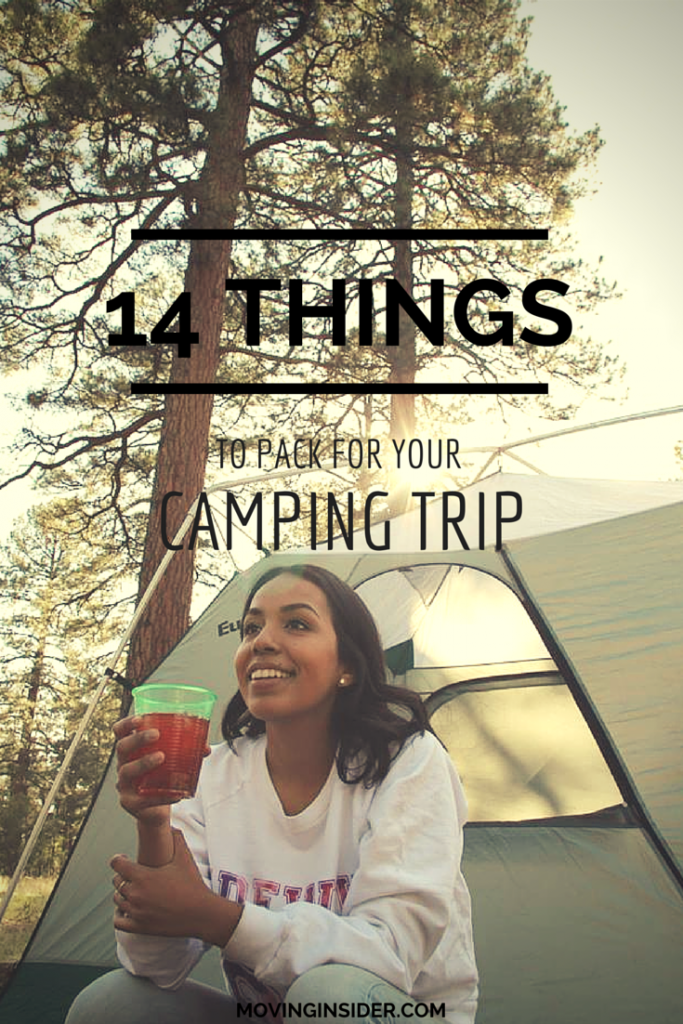 14 Things to Pack for your Next Camping Trip