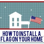 How to Install a Flag in Your Home