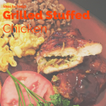 Grilled Stuffed Chicken Breast