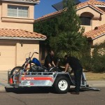 How to Transport a Motorcycle on a U-Haul Trailer