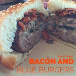 Bacon and Blue Cheese Burgers