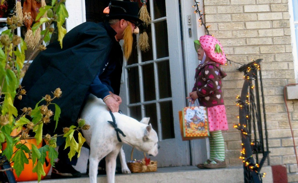safely trick-or-treating