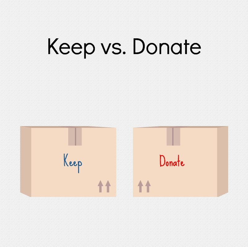 Keep v Donate