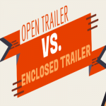 When to Choose an Open vs. Enclosed Trailer