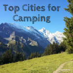 Top Cities for Camping