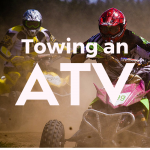 Towing an ATV or UTV
