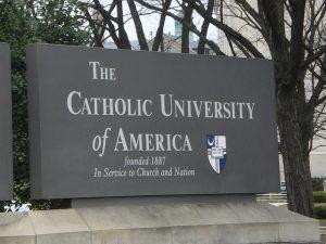 Moving to The Catholic University of America