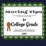 Moving Tips for College Grads