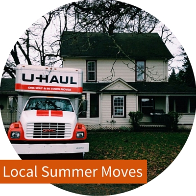 Moving locally in the summer