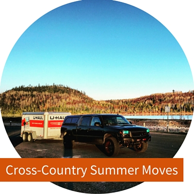 Summer cross-country moves