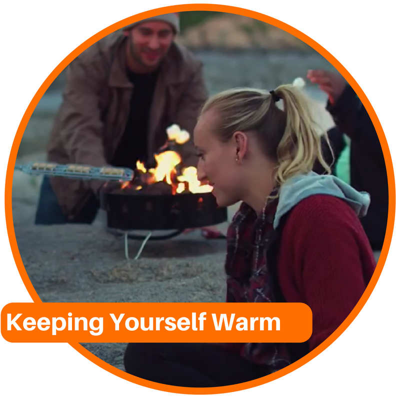 Keep Yourself Warm While Cold Weather Camping
